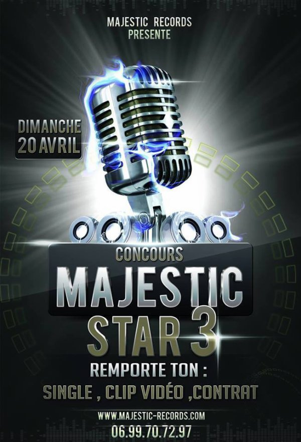 concours Majestic Star 3