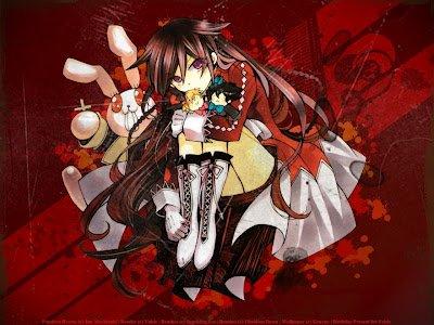 Alice alias B-Rabbit ou le lapin noir baigné de sang