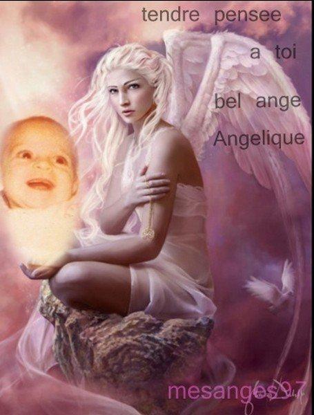 Avec toute la tendresse et la douceur de mon coeur bisous volants a toi bel ange