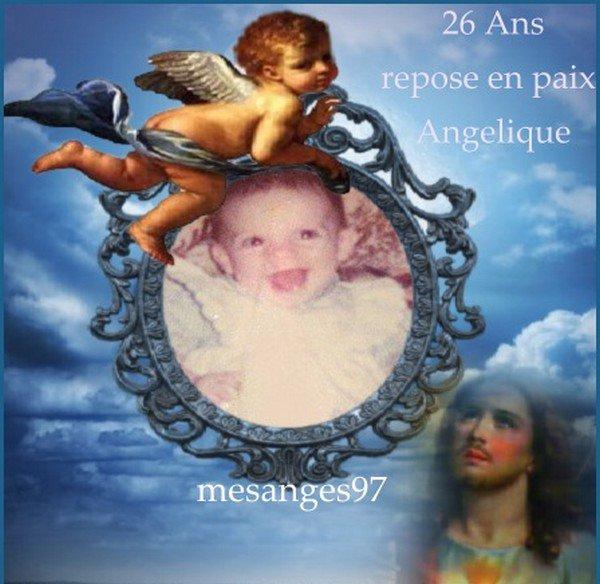 Repose en paix bel ange Angélique