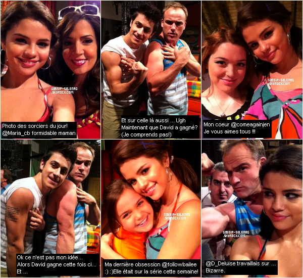 Photos  et messages provenant du twitter de Selena