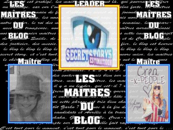 Les Maîtres du Blog...
