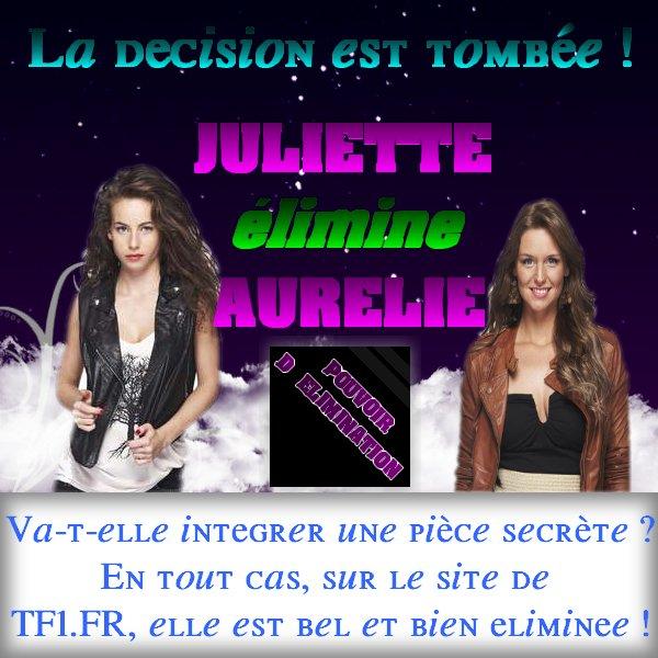 Juliette sort Aurélie grâce à son pouvoir !