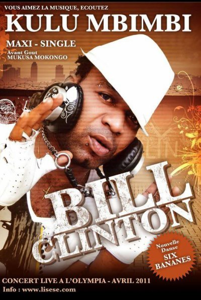 KULUMBIMBI ALBUM DE BILL CLINTON KALONJI