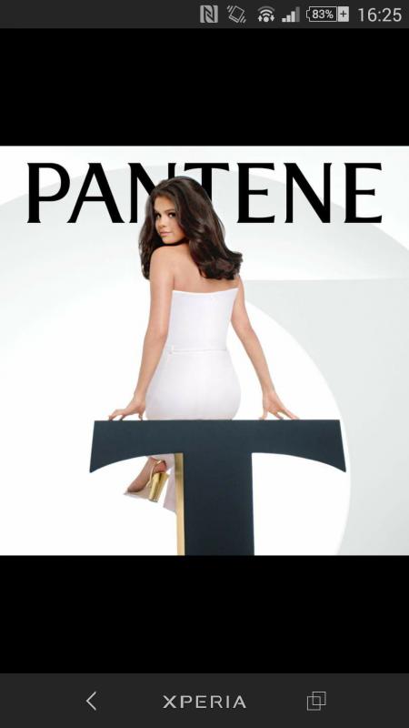 Selena Gomez est la nouvelle égérie de la marque de soin Panthene 