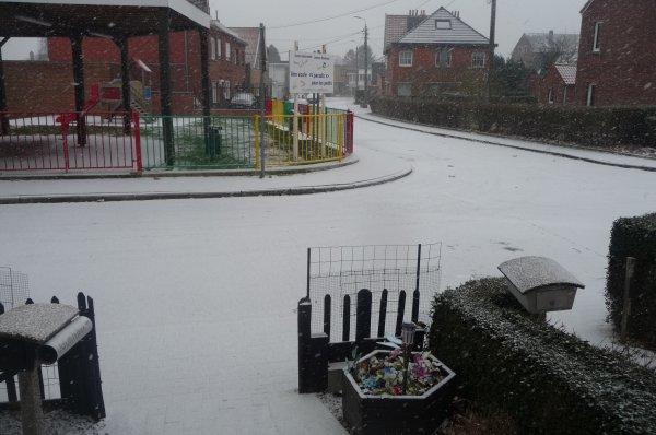 MARDI 22 JANVIER 2019 L'hiver & le Neige sont bien arriver avec le Froid des - 10 Degrer