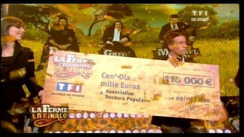 Mickael Vendetta;victoire de la Ferme Célébrités.