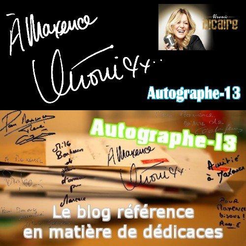 Autographe de célébrité ♥