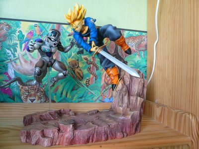 Blog de dbzreaction je vends des figurines et produits for Decoration murale dragon ball z