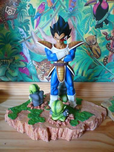 Résines et décor dragon ball