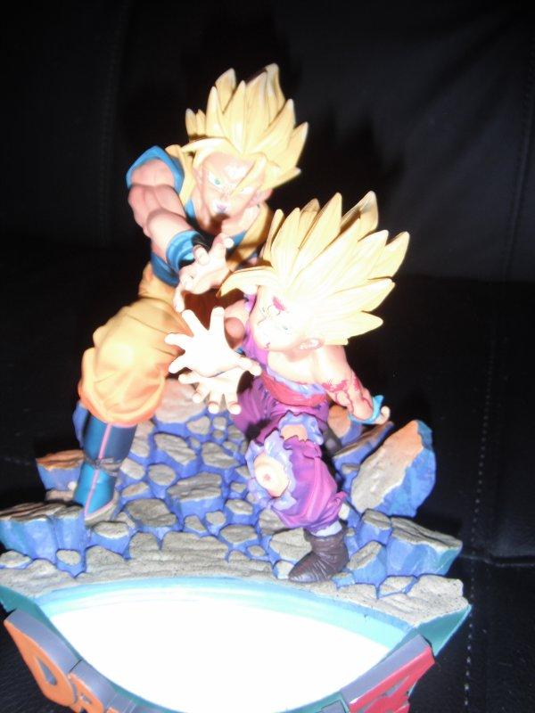 Figurine proovy songoku songohan kamehameha très rare