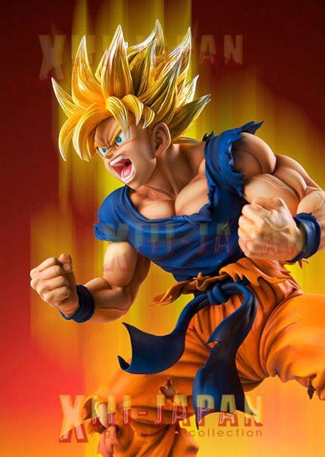 Je vends des figurines et produits dérivés du manga dragon ball