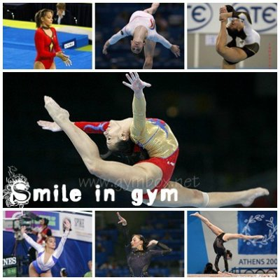 Quelques gymnastes étrangères.