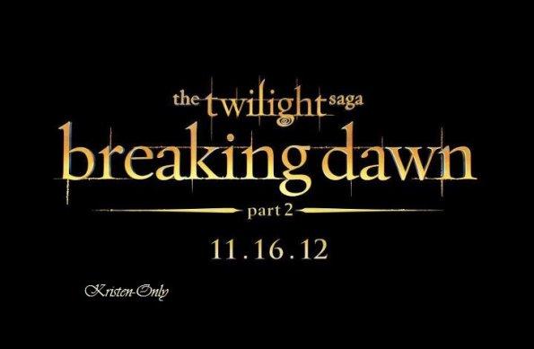 Extrait de Breaking Dawn Partie 2 + le Logo officiel.