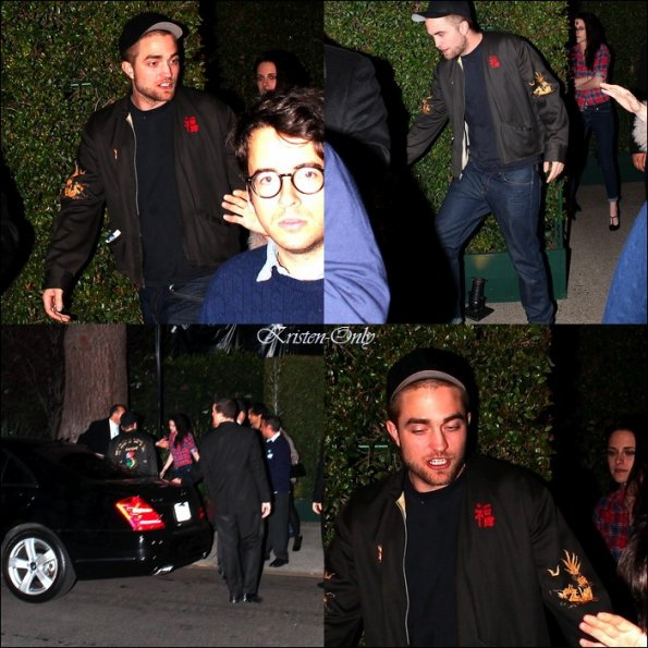 25/02/12  -RobSten à 'William Morris Endeavor Party' à Brentwood.