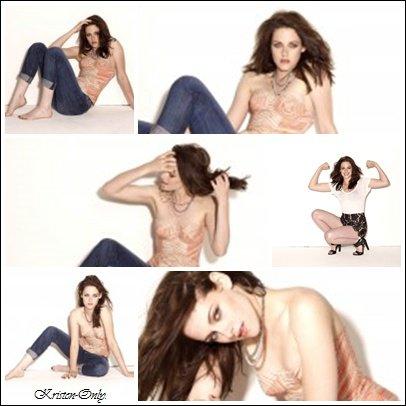 28/02/2012 - De nouvelles photos de Kristen extraites du shoot pour Glamour US !