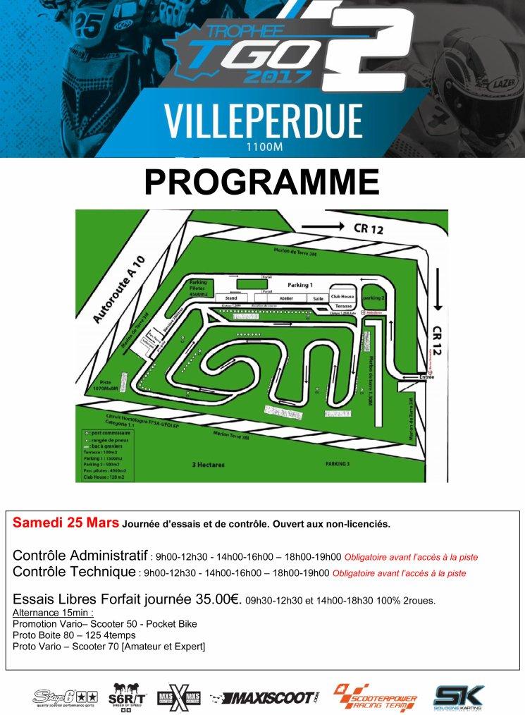 2ème Manche Trophée Grand Ouest 2017 Villeperdue (37260)
