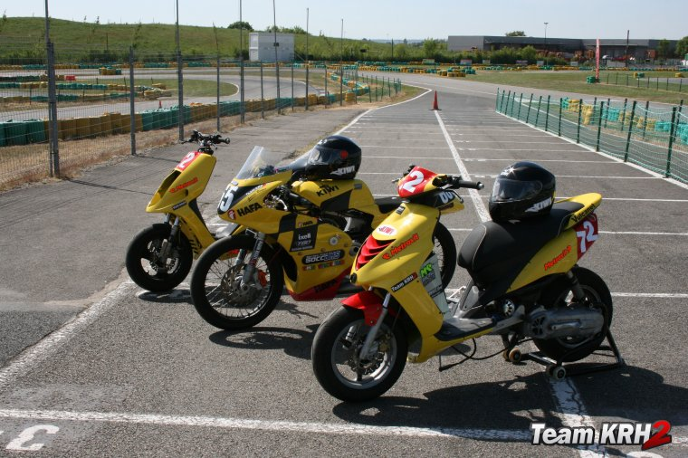 Machines Team KRH2 / 50CCJMS  Promo Scoot 50cc et Proto Vario 50cc