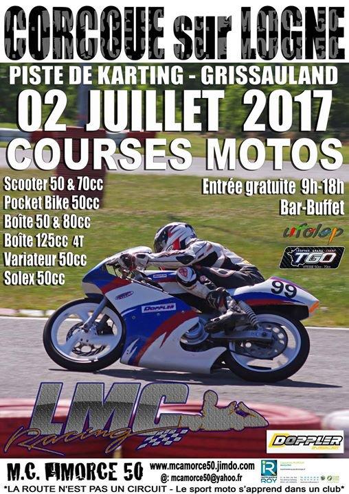5ème Manche Trophée Grand Ouest 2017 Corcoué sur Logne (44650)
