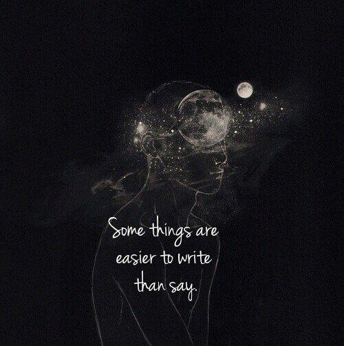 L'écriture.©