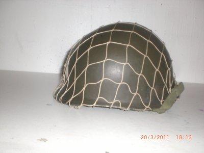 voici 3 vues de mon casque M1