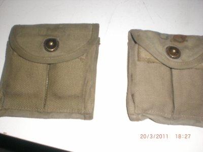 mes porte chargeur de carabine usm1 autentique de 1942