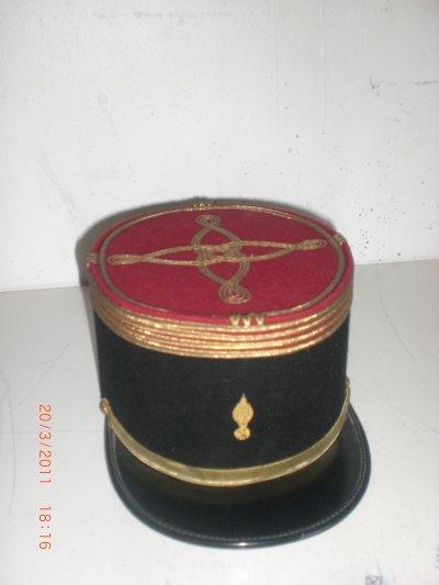 kepi de commandant