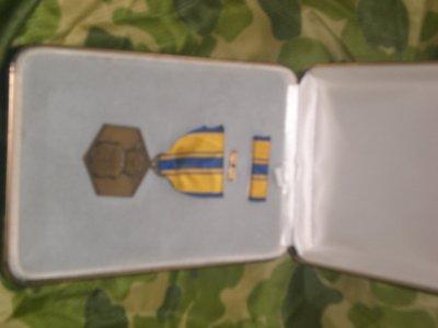 médaille du mérite de l'air force 1958