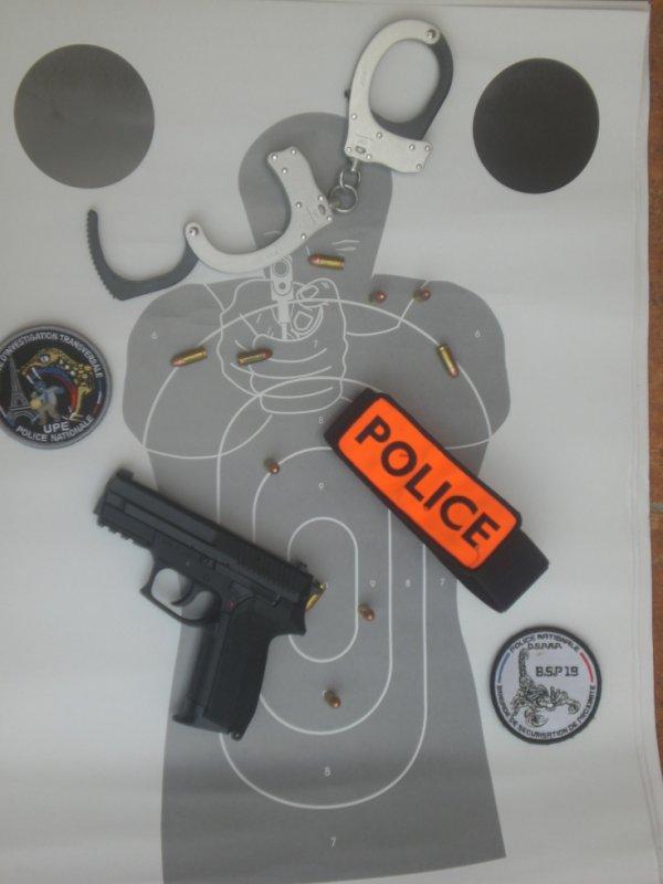 évocation pour la police