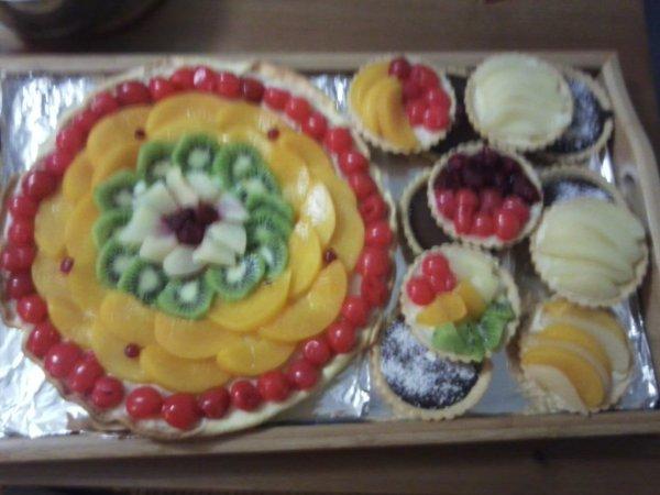 Tartes au fruit et au chocolat !