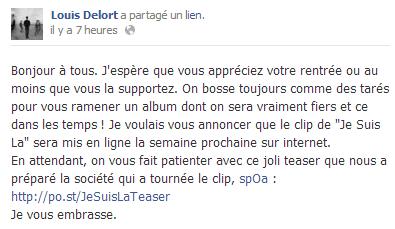 Actu du 11.09.13 Facebook