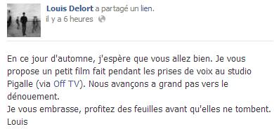 Actu du 03.10.13 Facebook