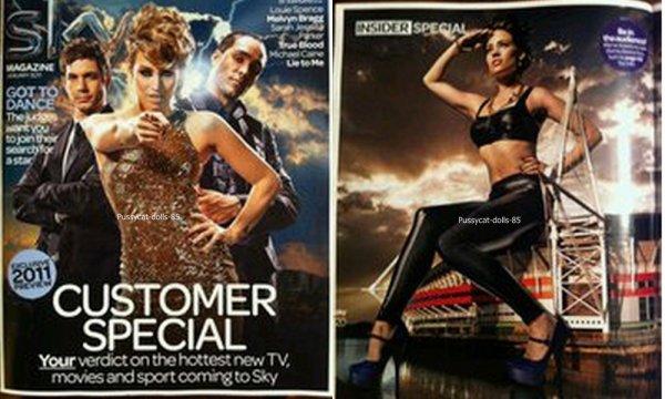 Kimberly - Performance en 2010 pour HMATW ; Nouveau Photoshoot Got To Dance ; Sky Magazine