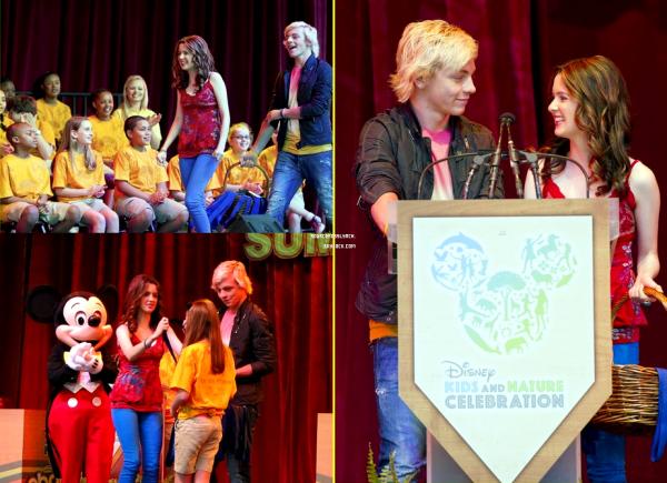++   ARTICLE FLASHBACK : 16Avril 2012 et 13Avril 2012   .   Ross et Laura célébraient Kids&Nature + Ross et Laura à l'avant première de Chimpanzee  +