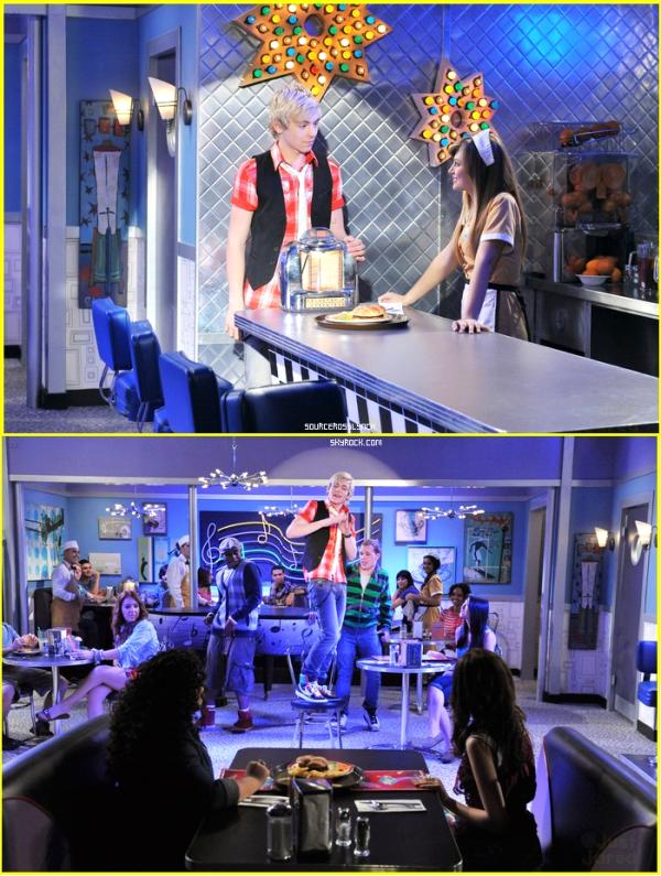 """++   17 Août .   Découvre des stills du nouvel épisode d'Austin&Ally """" Diner Dater """" + musique de l'épisode  +"""