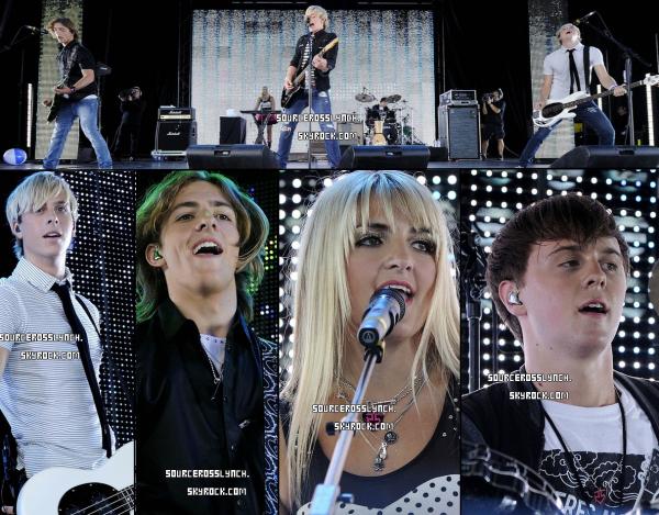 ++   29 Août .   Découvre des photos de Ross et des R5 durant leur concert à Toronto + Twitter time.  +