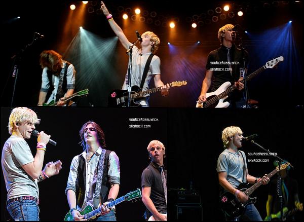 """++   11 Septembre .   Découvre la toute nouvelle musique des R5 et de Ross """" Crazy 4 U"""" ( le clip officiel n'est pas encore sortit) ! + Ross et les R5 ont donnés un concert en Pennsylvianie .  +"""