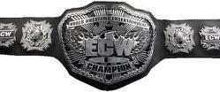 ceinture du champion de la ecw