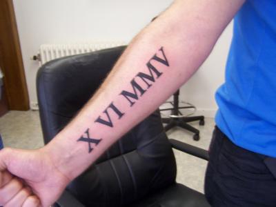 Tatouage Date Avant Bras Homme Kolorisse Developpement