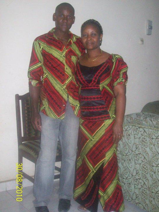 Hugues et maman