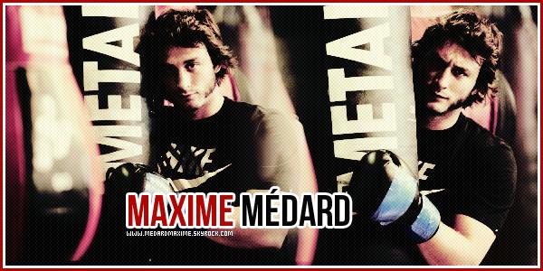 * Suivez l'actualité quotidienne du toulousain Maxime Médard sur • MedardMaxime ! *