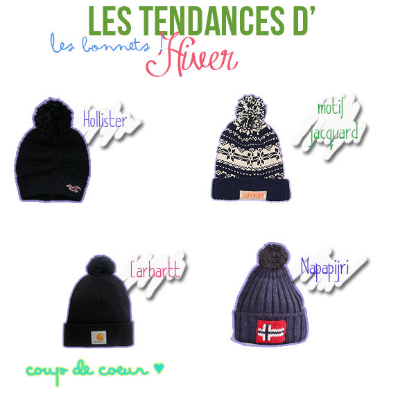 Tendances d'hiver: les bonnets