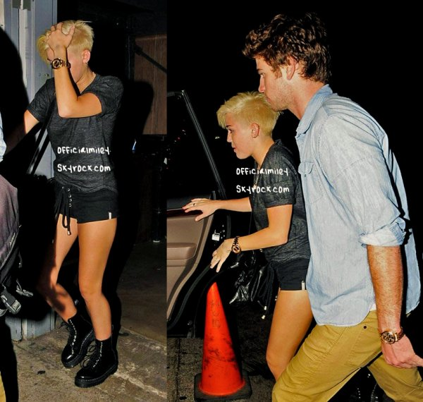 ♥ 31 aout 2012 Miley était  au concert de son père accompagnée de toute sa famille a WesHollywood & Des photos personnelles ♥