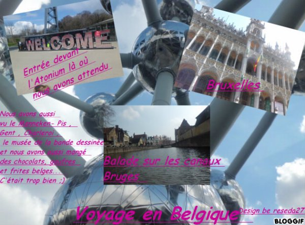 Voyage Belgique