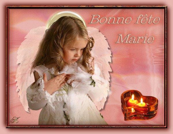 Bonne fête Marie
