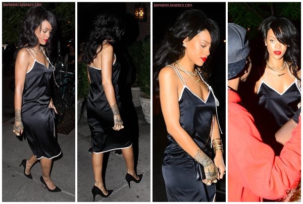 • 14 août | SORTIE |  - // Rihanna est à New York !