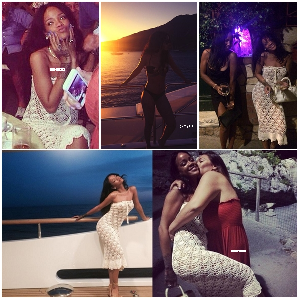 • août 2014 | AUTRES  |  - // Rihanna est en vacance !