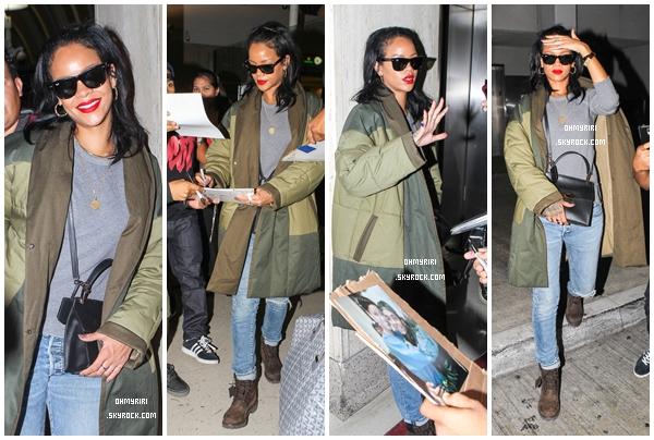 • 27 septembre | SORTIE |  - // Rihanna est de retour à Los Angeles