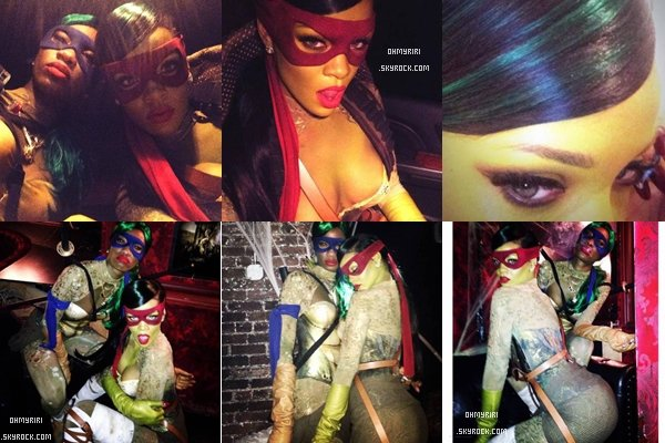 31 octobre / Rihanna fête Halloween dans un club à New York  ◆◆◆◆◆◆◆◆◆◆◆◆◆◆◆◆◆◆◆◆◆◆◆◆◆◆◆◆◆◆◆◆◆◆◆◆◆◆◆◆◆◆◆◆◆◆◆◆◆◆