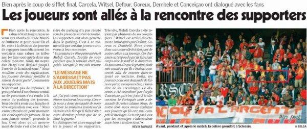 Standard - Courtrai Saison 2010-2011